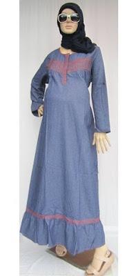 Model Baju Hamil Muslim Gamis