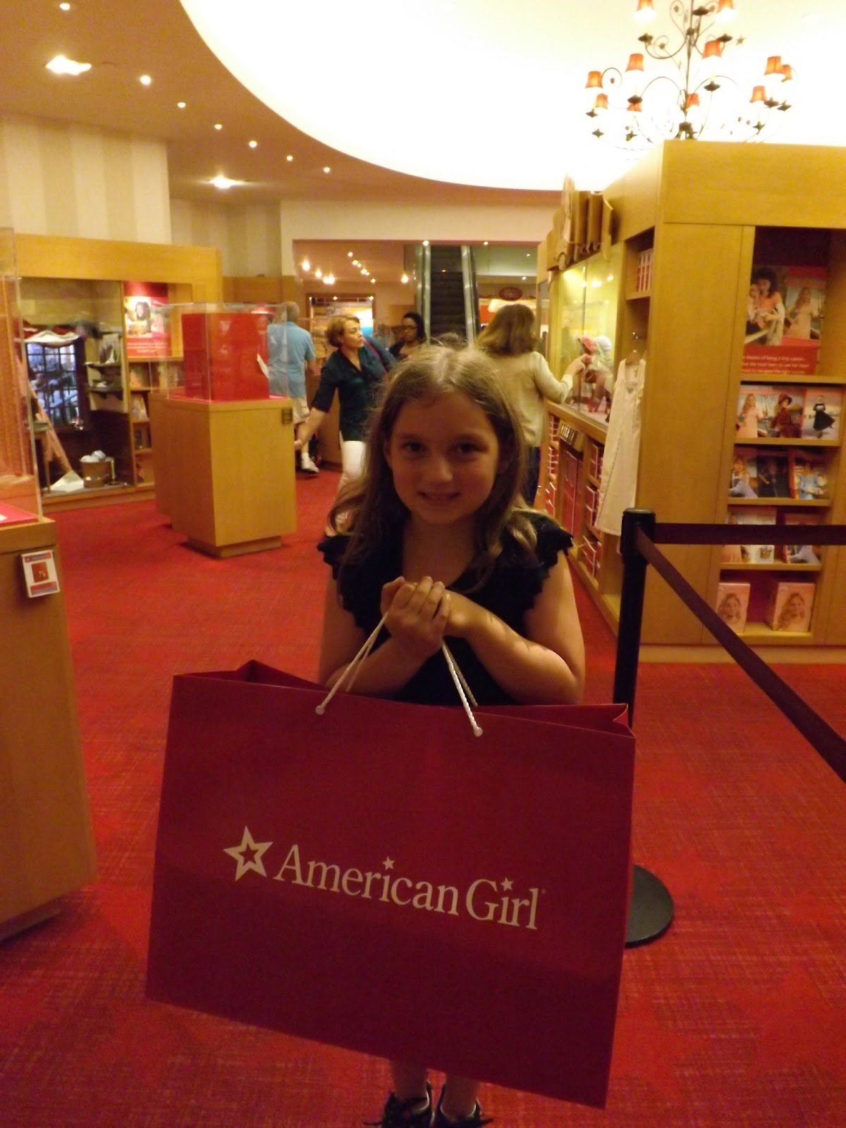 writing a better story american girl place new york city. Black Bedroom Furniture Sets. Home Design Ideas