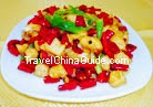 Diced Chicken with Chili