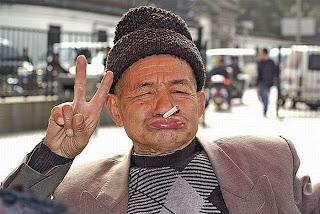 Funny picture: Crazy granddad