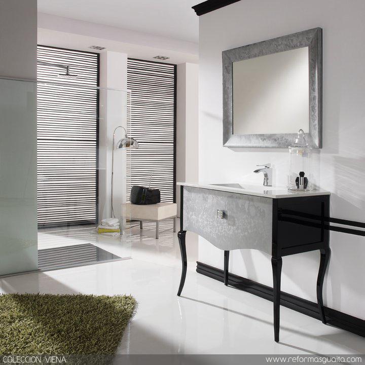 Muebles Para Baño La Platamueble+de+baño+viena+con+patas+isabelinas