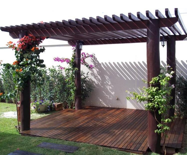 cerca de madeira para jardim passo a passoMeu Palácio de 64m²
