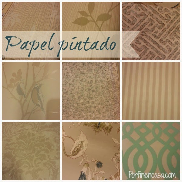 Decorar con papel pintado for Quitar papel pintado
