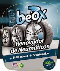 RENOVADOR DE NEUMATICOS Y GOMAS BEOX 500ML