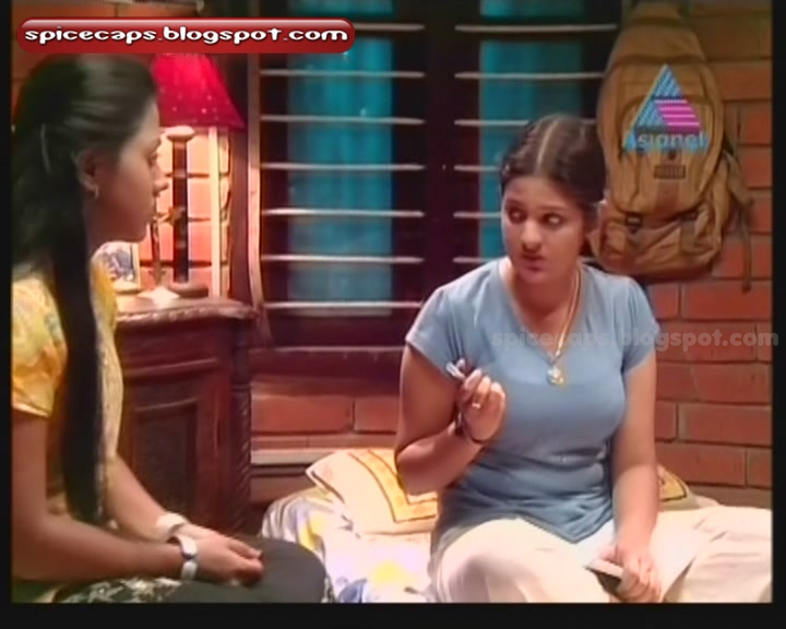 Malayalam Brindavanam Serial Actress Sreekutty Still in Tight T shirtMalayalam Serial Actress Sreekutty