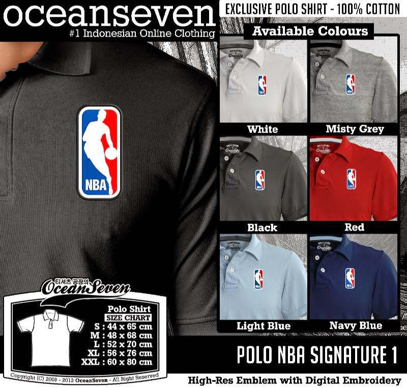 Kaos Polo NBA Signature 1