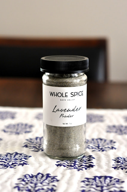 Lavender Powder from Whole Spice at Oxbow Public Market in Napa, CA | Taste As You Go