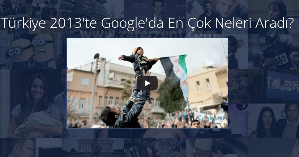 Türkiye 2013 Google En Çok Arananlar