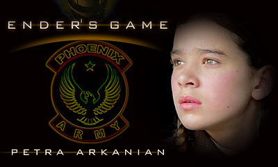 Hailee Steinfield as Petra Arkanian in Ender's Game Movie