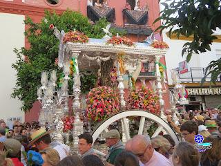 Romería del Rocío 2014 - Hermandad de Triana - Salida 09