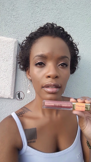 Milani Brilliant Shine Lip Gloss 'Luminous' swatch www.modenmakeup.com