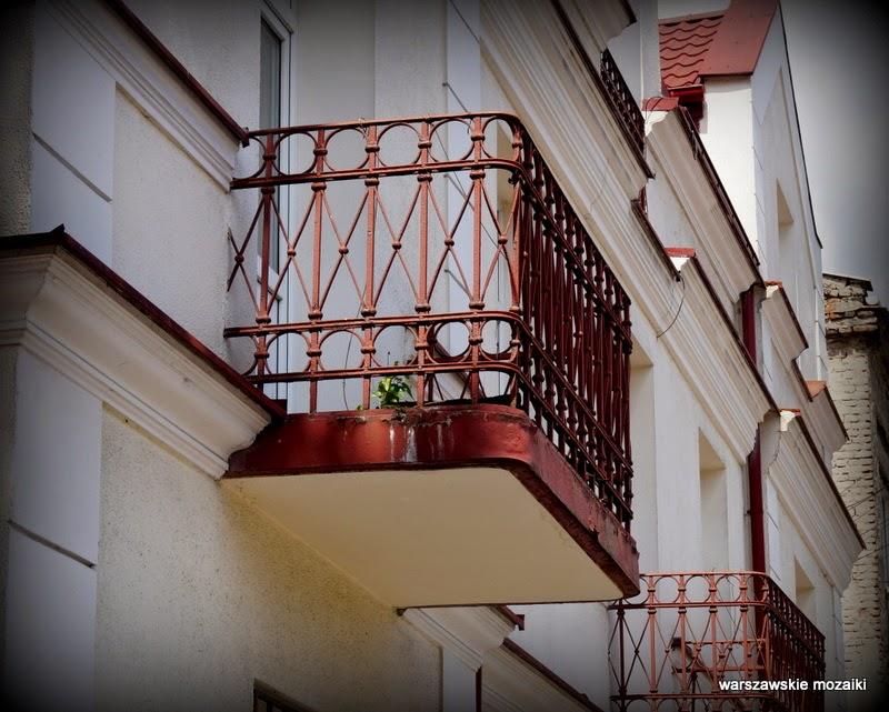 Warszawa Włochy kamienice NKWD Piłsudskiego balkony