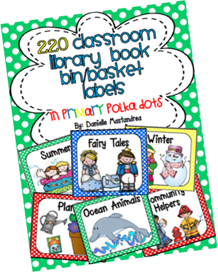 https://www.teacherspayteachers.com/Product/220-Classroom-Library-Book-Bin-Basket-Labels-Primary-Polka-Dots-728294