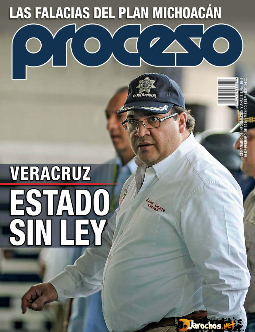 Revista Proceso No.1946 [MEGA] - Veracruz, Estado sin Ley PDF Digital
