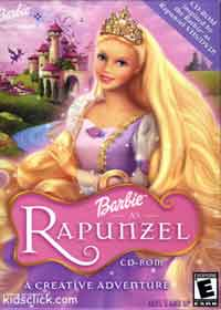 Capa do Filme Barbie Rapunzel