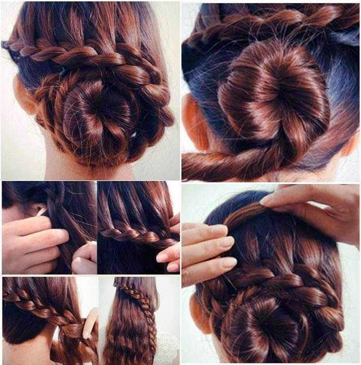 Hair Styles Tutorial For Ladies...