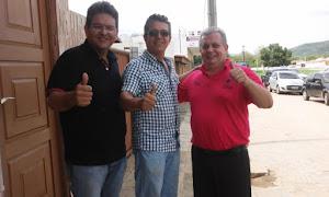Governador Ricardo inaugurou estrada e ginásio no Curimataú  Paraibano