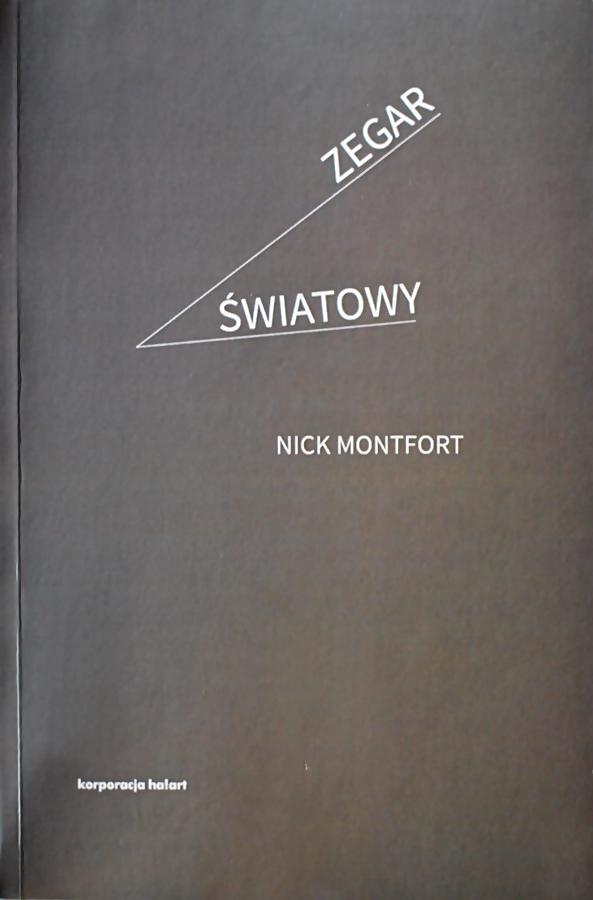 """Nick Montford """"Zegar światowy"""""""
