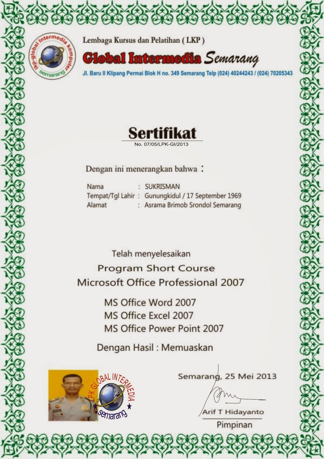 sertifikat komputer