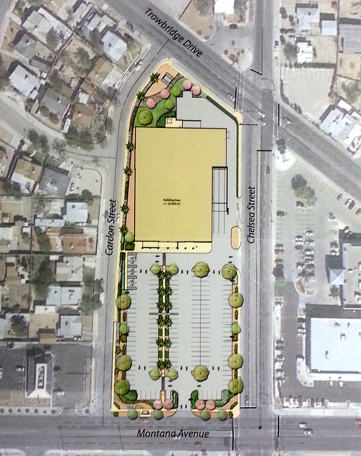 El Paso Development News Walmart Plans Store For Central El Paso