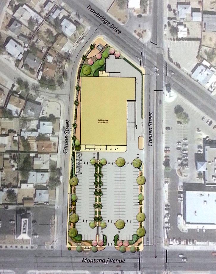 El Paso Development News Walmart Plans Store For Central El Paso