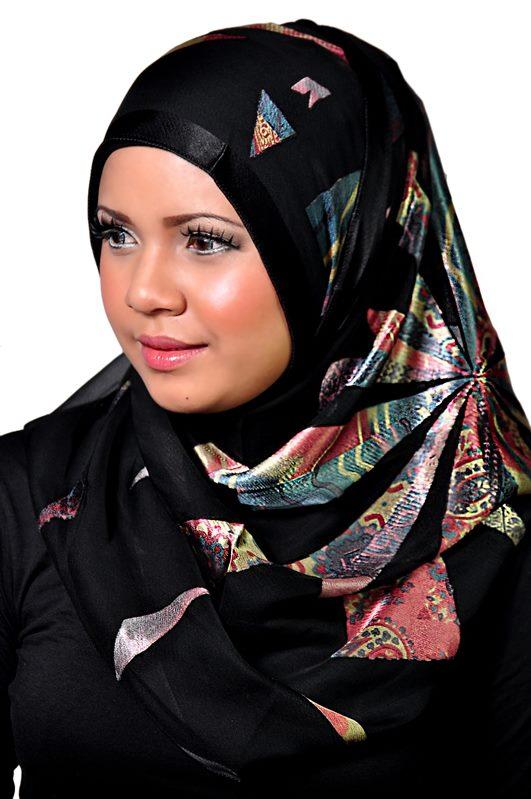 Wonderful New Hijab Styles March 2013