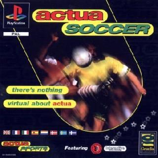 Torrent Super Compactado Actua Soccer PS1