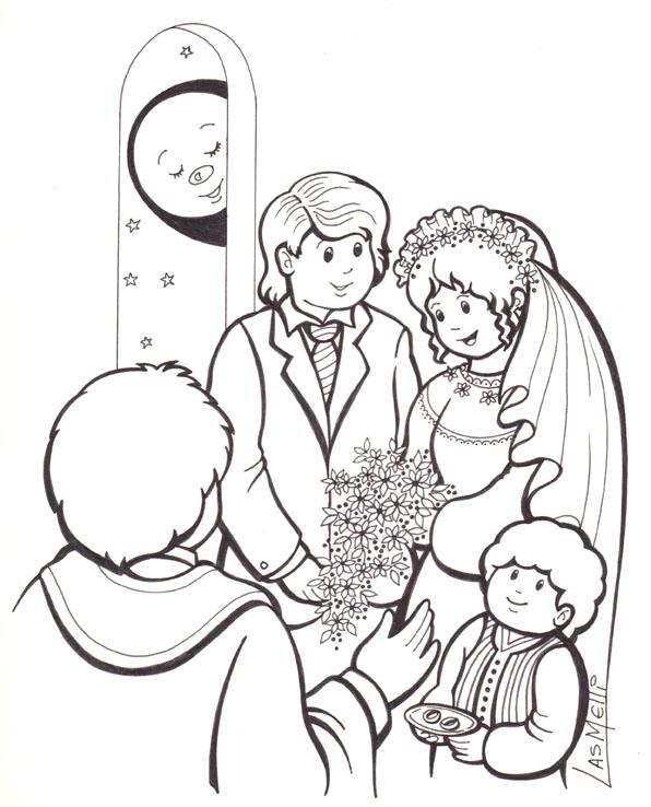 Matrimonio Catolico Para Dibujar : El rincón de las melli matrimonio