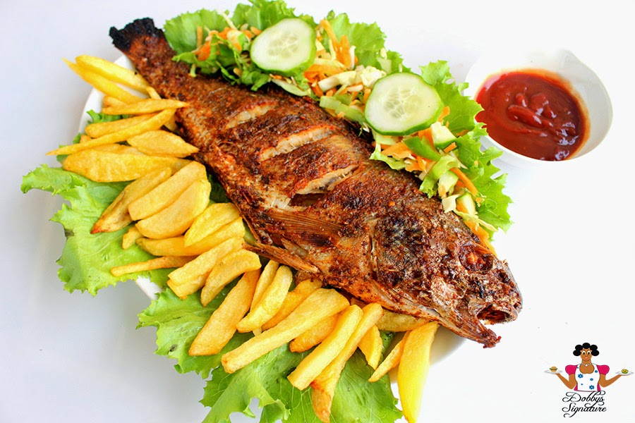 Dobbys signature nigerian food blog i nigerian food for Grill fish in foil