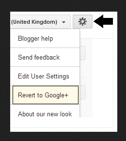 revert to google plus