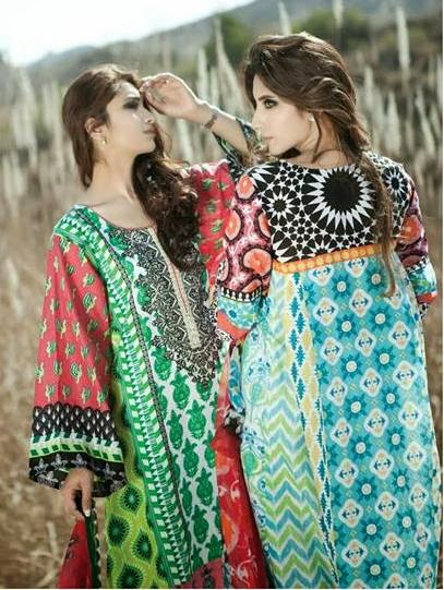Lawn, Lawn prints, Lawn designs, Designer lawns 2014, Designer lawns, Lawns in Pakistan, Buy Lawns online, Prints, Floral prints, abstract prints, geometric prints, Summer, Fashion trends, fashion, trending 2014