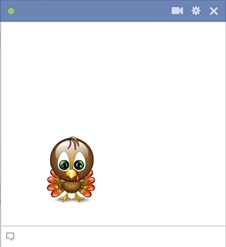 Facebook Turkey Emoticon