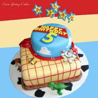 Toy Story cakes for children parties