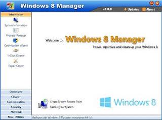 Yamicsoft Windows 8 Manager 1.0.5 Full Patch