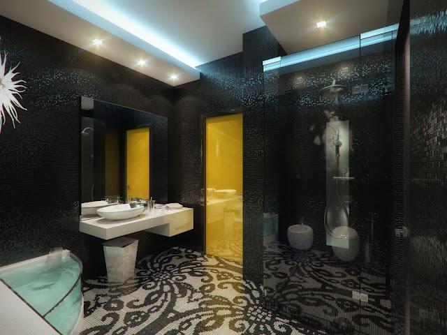 Ванная комната в квартире на Бережковской набережной