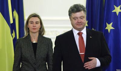 Киев посетила комиссар по иностранным делам ЕС Могерини