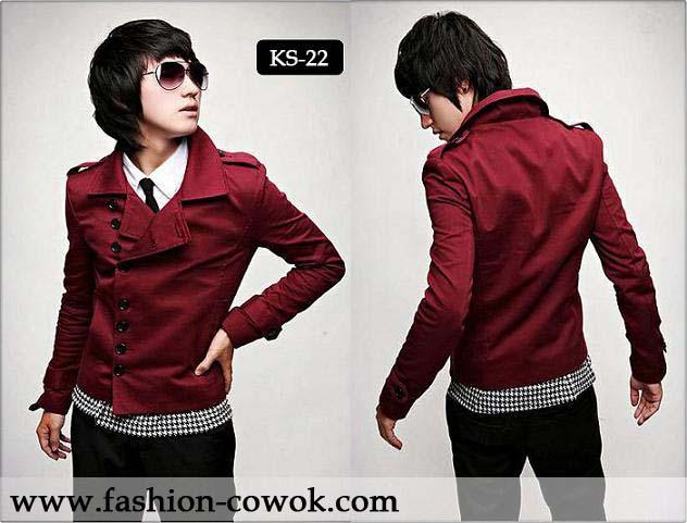 Red Korea Blazer