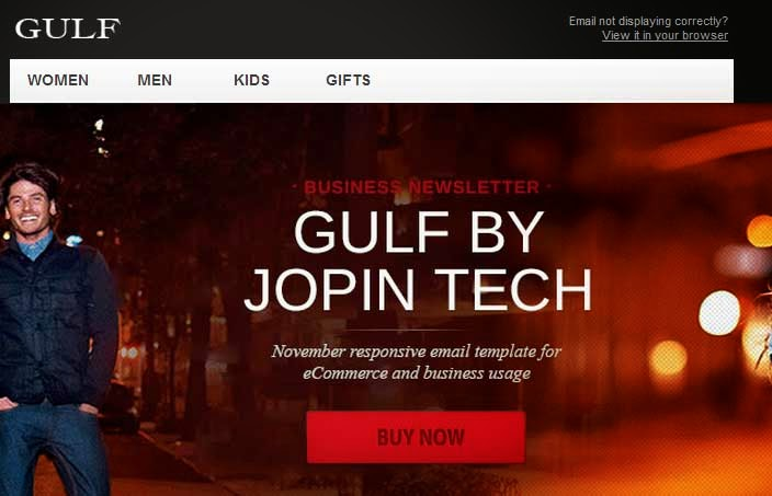 Gulf – Responsive eCommerce Email Template