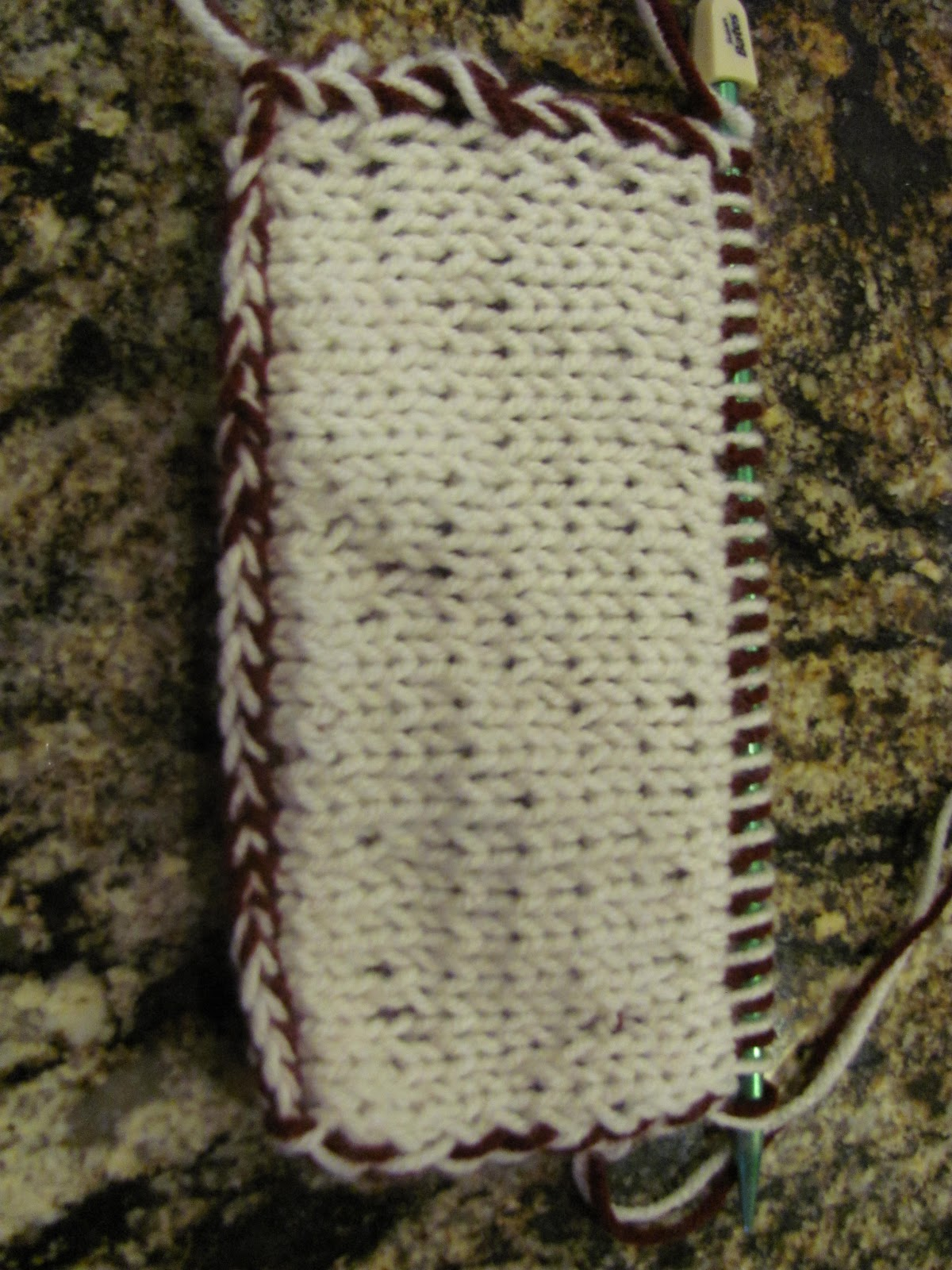 Knitting Basics Getting Started : Mosier farms double knitting reversible