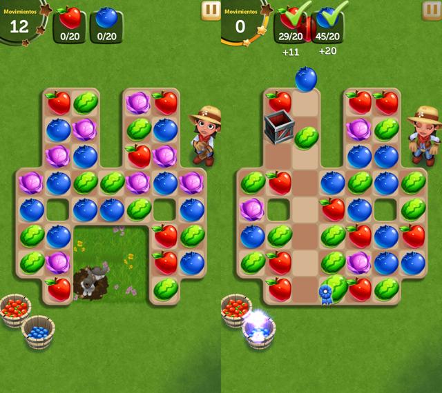 Juego Android Farm Village