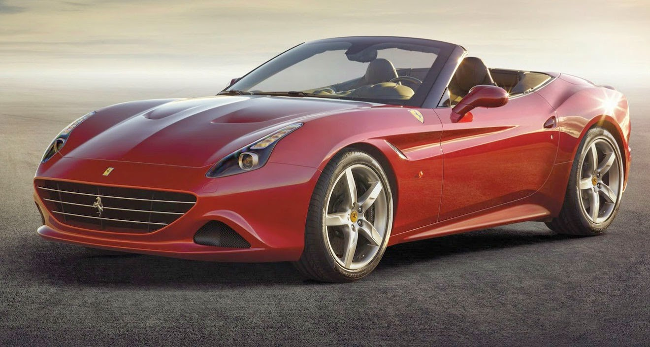 Ferrari California T 2014, un espectáculo visual