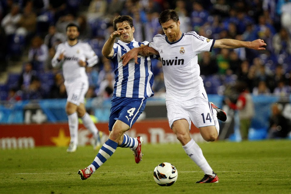 Real Madrid Real Sociedad Xabi Alonso