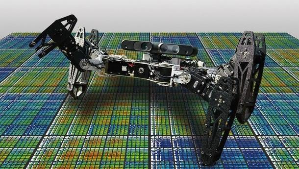 Robô danificado pode curar-se em menos de 2 minutos