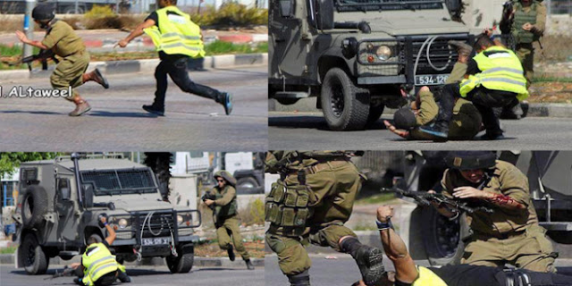 Pemuda Palestina Membuat Tentara Israel Lari Terbirit Hanya Dengan Sebilah Pisau