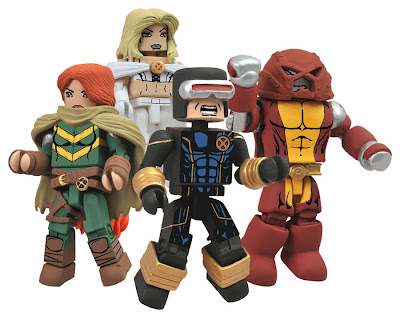 San Diego Comic-Con 2012 Exclusive AvX: Avengers vs X-Men Marvel Minimates Box Set - Hope Summers, Cyclops, Emma Frost & Colossus