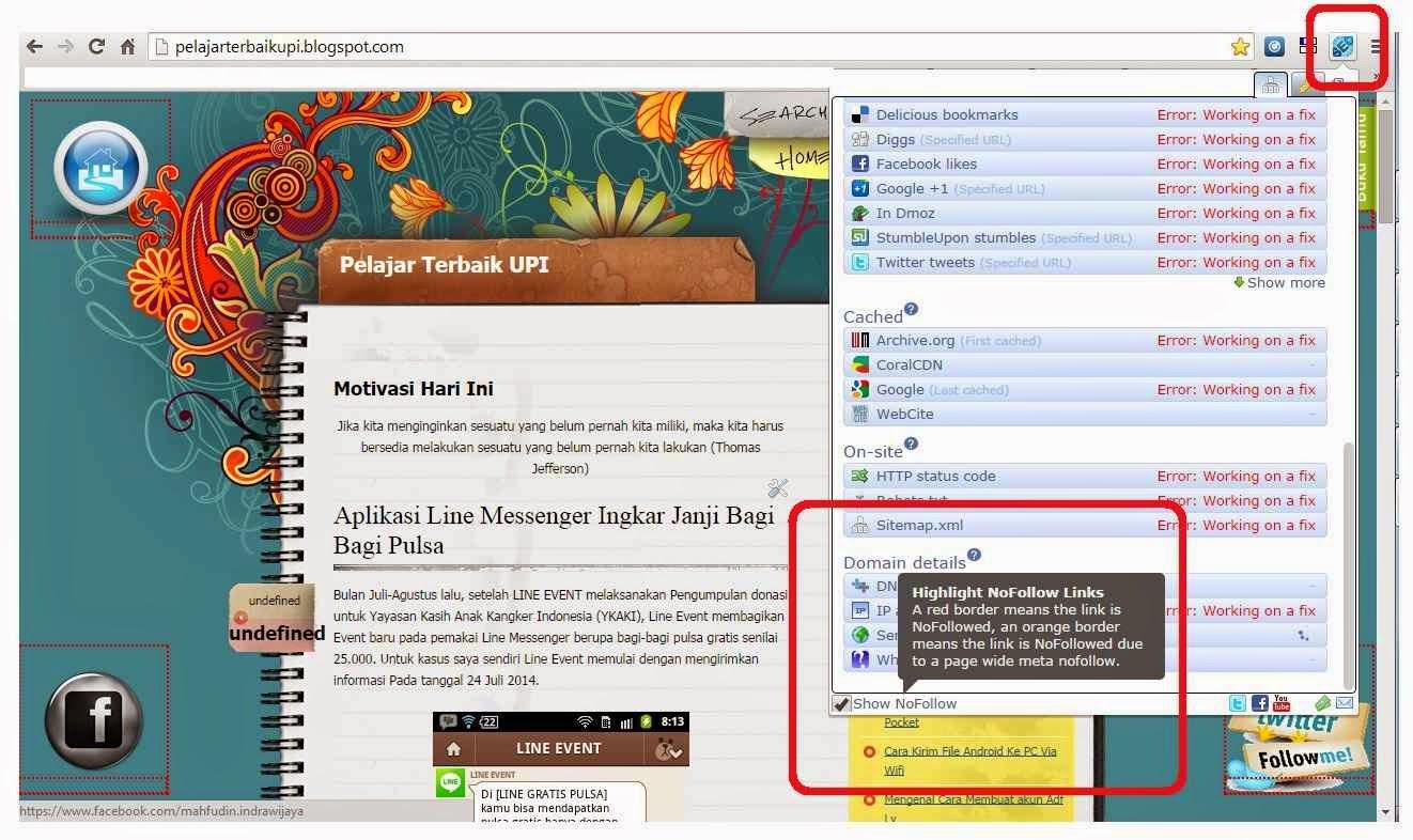 Mengenal, Membedakan Link Dofollow dan Link Nofollow di Google Chrome
