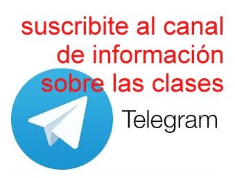 canal en Telegram