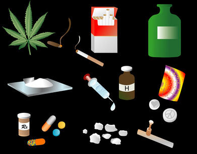 marijuana, Heroin, benzos, pain pills, oxycontin,crack, cocaine, meth, alcohol