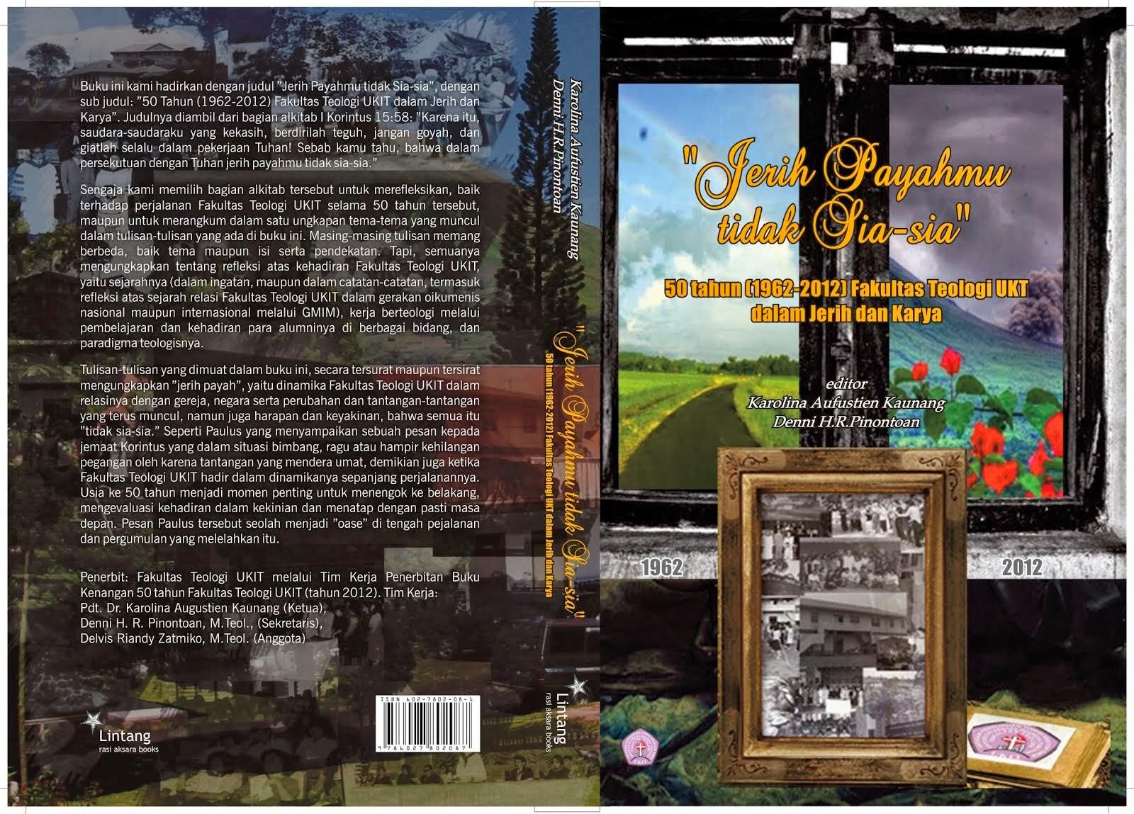Buku Terbitan Fakultas Teologi UKIT