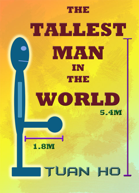 Book cover of The Tallest Man In The World